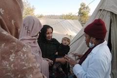 María Victoria Echenique explica el tratamiento a las paquistaníes